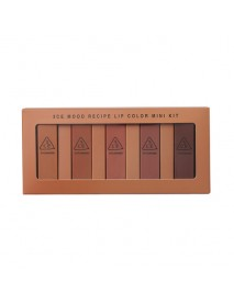 [3CE] Mood Recipe Lip Color Mini Kit - 1Pack (1.3g x 5ea)
