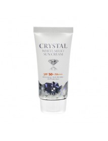 [3W CLINIC] Crystal White Milky Sun Cream - 50ml (SPF50+ PA+++)