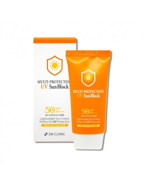 [3W CLINIC] Multi Protection UV Sun Block - 70ml(SPF50+ PA+++)