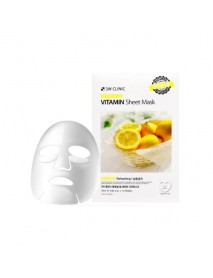 [3W CLINIC] Essential Up Sheet Mask - 1Pack (10ea) #Vitamin