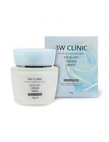 [3W CLINIC] Excellent Cream White - 50g