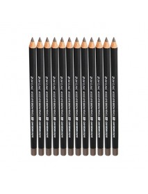 [3W CLINIC] Wood Eye Brow Pencil - 12ea #05 Gray Brown