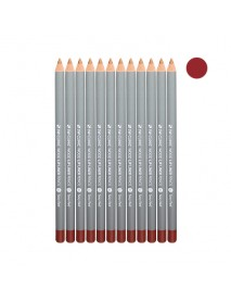[3W CLINIC] Wood Lip Liner Pencil - 12ea #03 Sexy Red