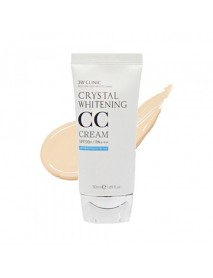 [3W CLINIC] Crystal Whitening CC Cream - 50ml (SPF50+ PA+++) #02 Natural Beige