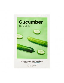 [MISSHA_50% Sale] Airy Fit Sheet Mask - 1pcs #Cucumber