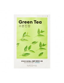 [MISSHA_50% Sale] Airy Fit Sheet Mask - 1pcs #Green Tea