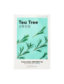 [MISSHA_50% Sale] Airy Fit Sheet Mask - 1pcs #Tea Tree