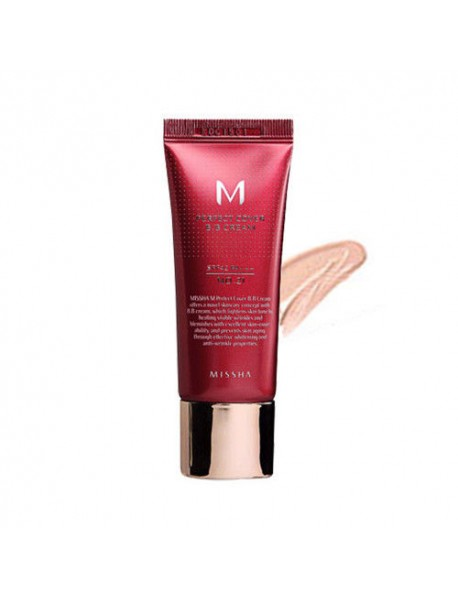 [MISSHA_50% Sale] M Perfect Cover B.B Cream - 20ml (SPF42 PA+++) #21 Light Beige
