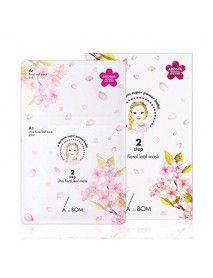 [A. BY BOM] 2 Step Ultra Floral Leaf Mask - 1Pack (5pcs)