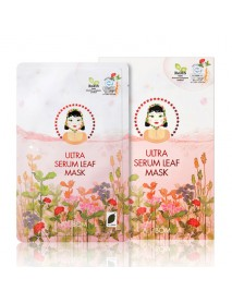 [A. BY BOM] 1 Step Ultra Serum Leaf Mask - 1Pack (5pcs)