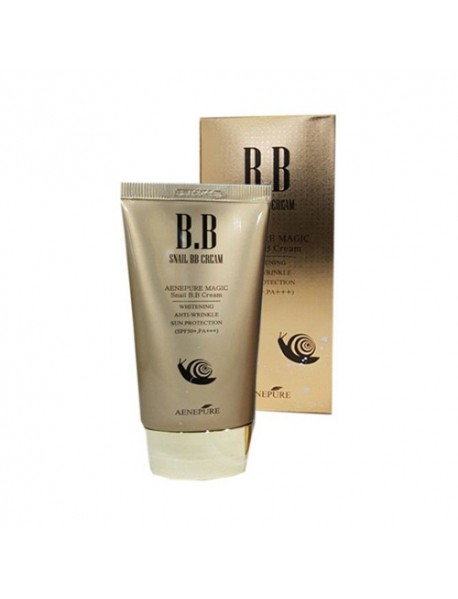 [AENEPURE] Snail BB Cream - 50ml (SPF50+ PA+++)