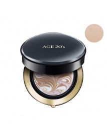 [AGE 20S] Signature Essence Cover Pact Intense Cover - 14g (+Refill 14g) #21 Light Beige