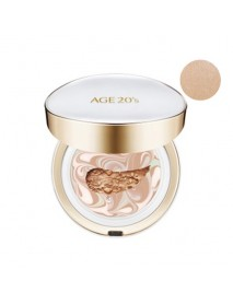 [AGE 20S] Signature Essence Cover Pact Long Stay - 14g (+Refill 14g) #23 Medium Beige