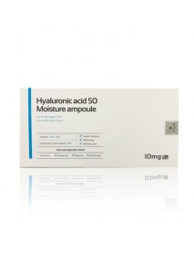 [AIDA COSMETIC] Hyaluronic Acid 50 Moisture Ampoule - 1Pack (2ml*10ea)