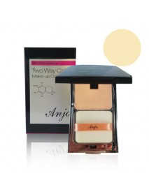 [ANJO] Two Way Cake Make Up Color - 13g #21 Natural Beige