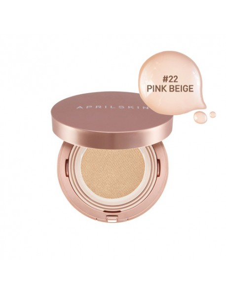 [APRIL SKIN] Magic Snow Fixing Foundation - 15g (SPF30 PA++) #22 Pink Beige