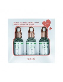 [BLUMEI] Lovely Tea Tree Ampoule 3Set - 1Pack (3items)