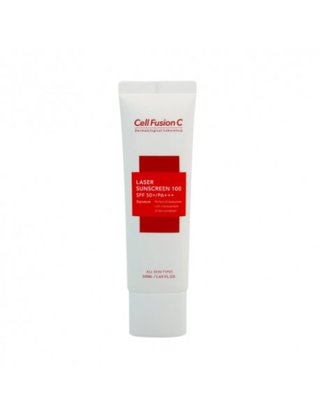 [CELL FUSION C] Laser Sunscreen 100 - 50ml (SPF50+ PA+++)