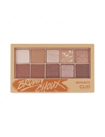 [CLIO] Pro Eye Palette - 0.6g*10 #02 Brown Choux