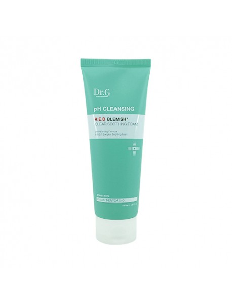 [DR.G] pH Cleansing R.E.D Blemish Clear Soothing Foam - 150ml