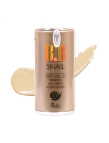 [EKEL] Snail B.B Cream - 50g (SPF50+ PA+++) #21 Light Beige