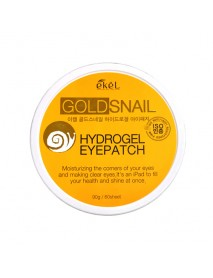 [EKEL] Gold Snail Hydrogel Eyepatch - 90g(60pcs)