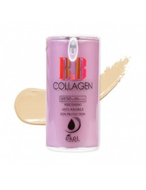 [EKEL] Collagen B.B Cream Pump Style - 50g (SPF50+ PA+++) #21 Light Beige