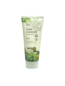 [EKEL] Foam Cleanser - 180ml #Snail (Big Size)