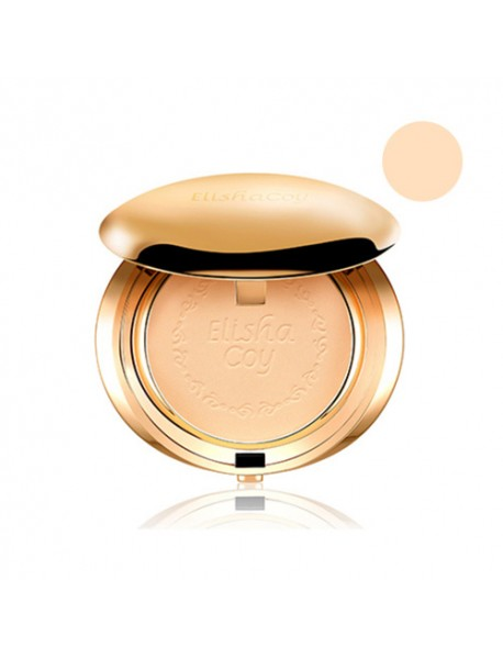 [ELISHACOY] Premium Gold Mineral Pact - 11.5g (SPF25 PA++) #21 Natural Beige