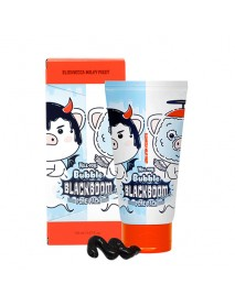 [ELIZAVECCA] Milky Piggy Hell Pore Bubble Blackboom Charcoal Pore Pack - 150ml