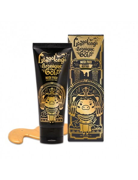 [ELIZAVECCA] Milky Piggy Hell Pore Longo Longo Gronique Gold Mask Pack - 100ml