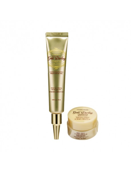 [ETUDE HOUSE] Gold Darling Plus Repairing Eye Cream - 1Pack (2Item)