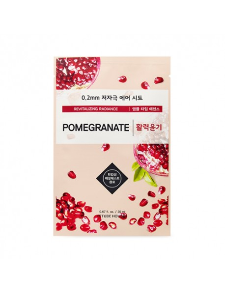 [ETUDE HOUSE] 0.2 Air Mask - 1pcs #Pomegranate