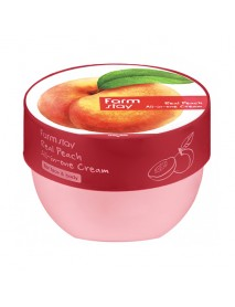 [FARM STAY] Real Peach All-In-One Cream For Face & Body - 300ml