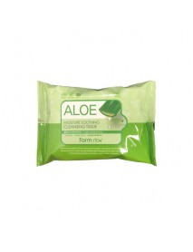 [FARM STAY] Aloe Moisture Soothing Cleansing Tissue - 1Pack (30pcs)