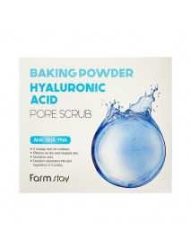 [FARM STAY] Baking Powder Hyaluronic Acid Pore Scrub - 1Pack (7g x 25pcs)