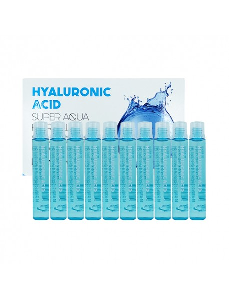 [FARM STAY] Hyaluronic Acid Super Aqua Hair Filler - 1Pack (13ml x 10ea)