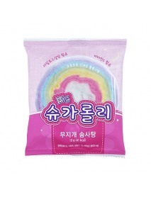 [FOOD] Big Sugar Lolli Rainbow Cotton Candy - 1Pack