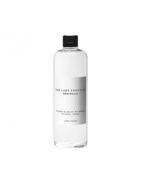 [GRAYMELIN] Alaska Glacier Water 85% Natural Toner - 500ml