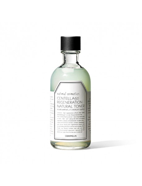 [GRAYMELIN] Centella 50 Regeneration Natural Toner - 130ml