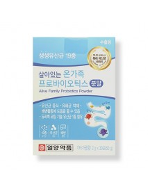 [IL-YANG PHARM.] Alive Family Probiotics Powder - 1Pack (2g x 30ea)