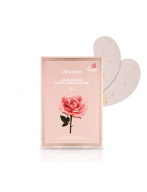 [JM SOLUTION] Glow Luminous Flower Firming Eye Mask Rose - 1Pack (4ml x 10ea)