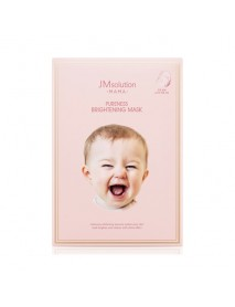 [JM SOLUTION] MAMA Pureness Brightening Mask - 1Pack (10ea)