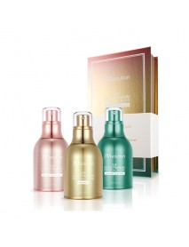 [JM SOLUTION] 24K Gold Premium Peptide All In One Limited Edition Set - 1Pack (30ml x 3ea)