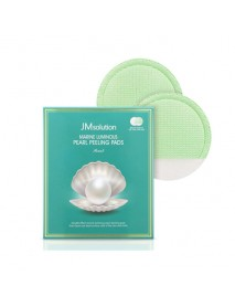 [JM SOLUTION] Marine Luminous Pearl Peeling Pads Pearl - 1Pack (10ea) (EXP : 2021. 08)