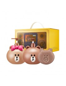 [MISSHA] Line Friends Edition Body Set [Moringa] - 1Pack (3items)