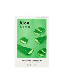 [MISSHA_50% Sale] Airy Fit Sheet Mask - 1pcs #Aloe
