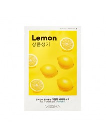 [MISSHA_50% Sale] Airy Fit Sheet Mask - 1pcs #Lemon