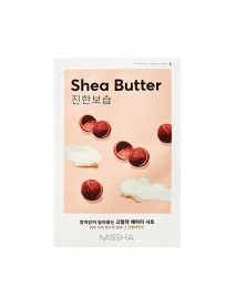 [MISSHA_50% Sale] Airy Fit Sheet Mask - 1pcs #Shea Butter