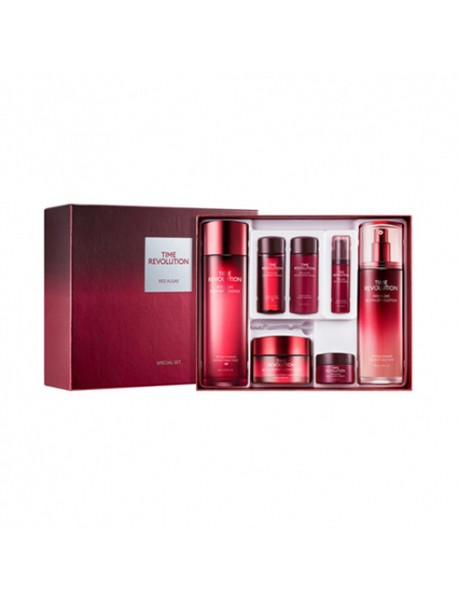 [MISSHA] Time Revolution Red Algae 3 Step Special Set - 1Pack (7items)